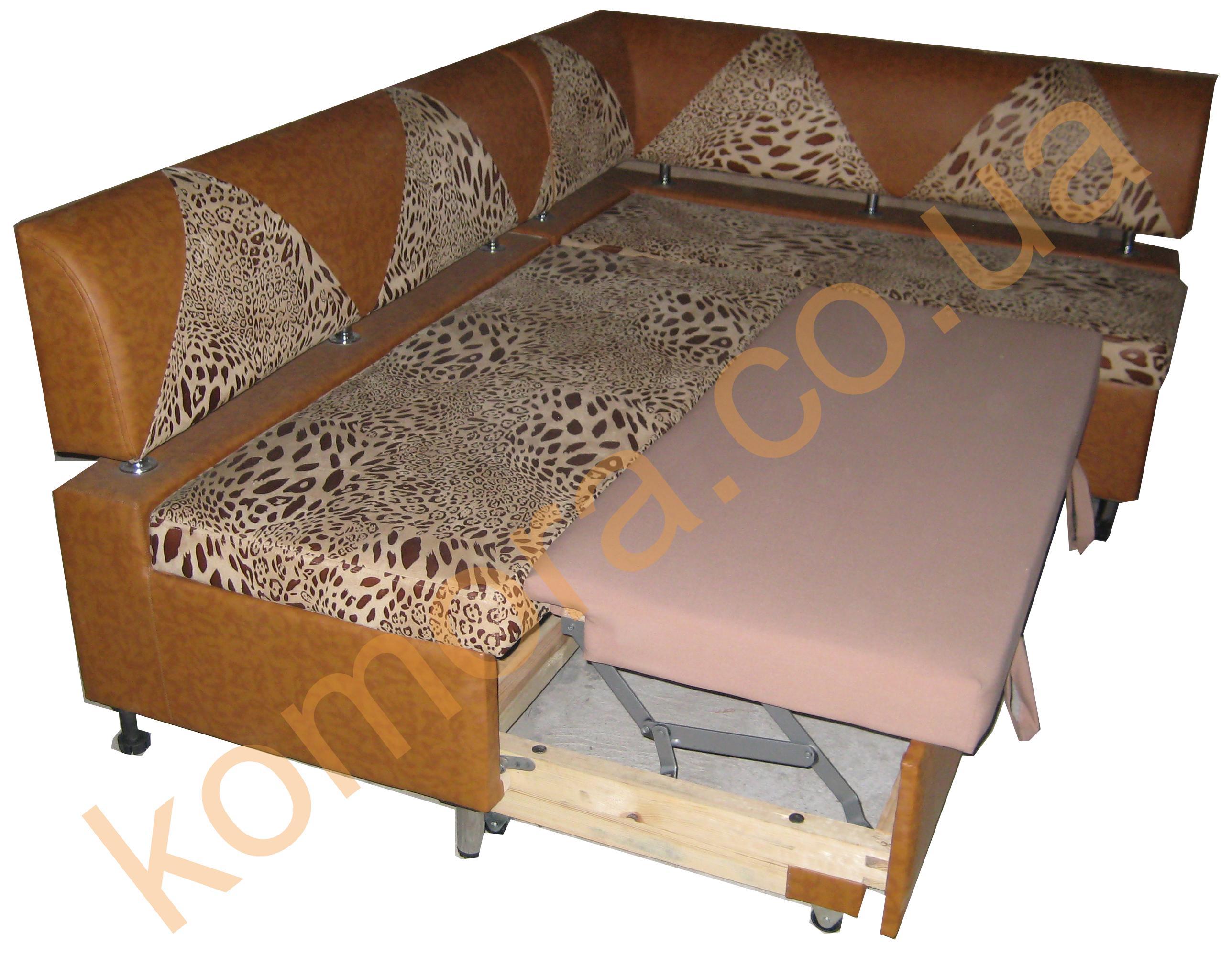 Спальный диван на кухню своими руками