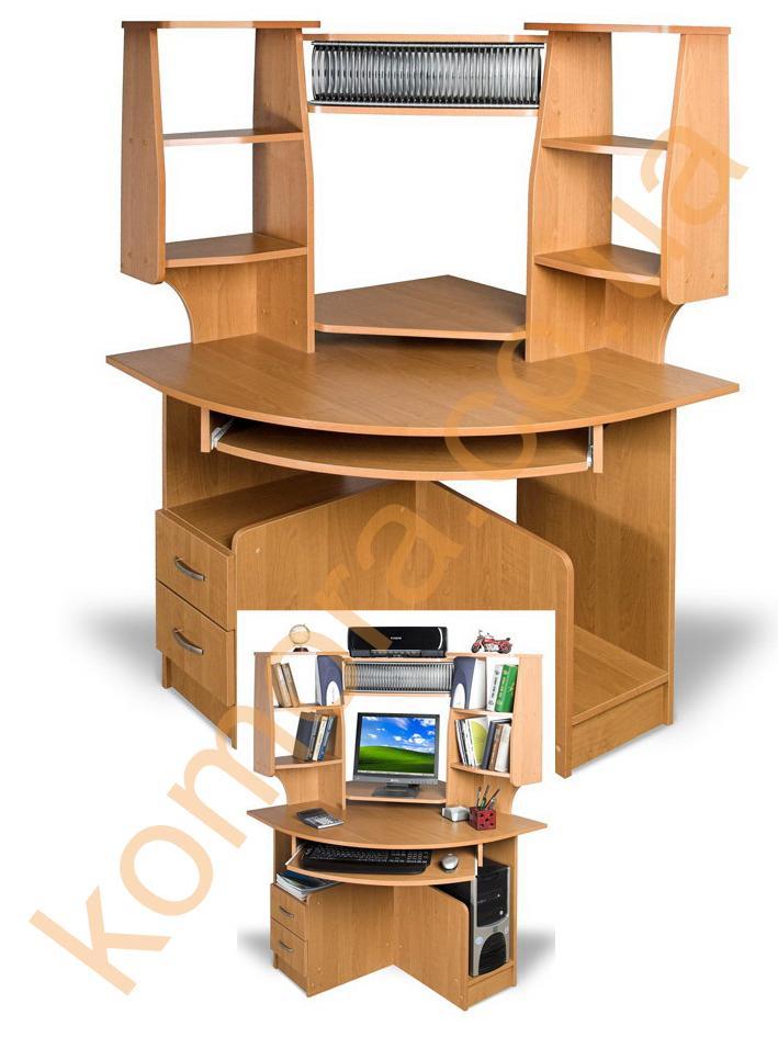 Стол компьютерный письменный угловой тиса ск-92 галерея.