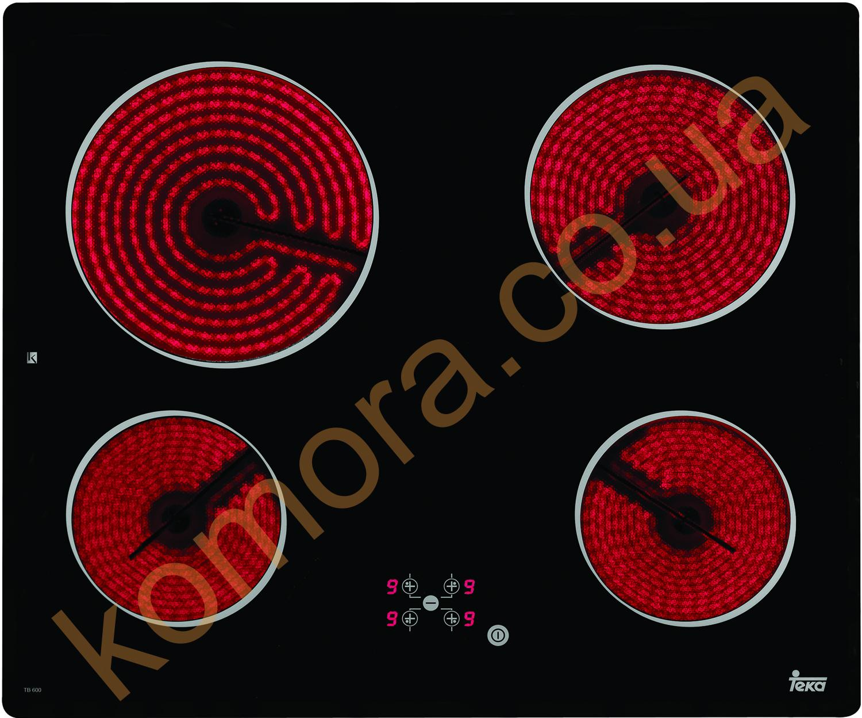 Плита стеклокерамическая TB 600 от производителя Teka