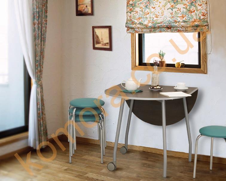Стол T-Mobile * Распродажа столов-книжек T-Мобайл * Стол раскладной T-Mobile * Кухонный стол T-Mobile в Киеве - KOMORA