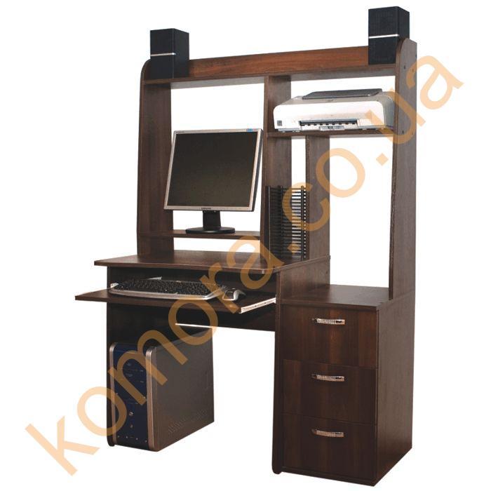 Компьютерный стол со стойкой