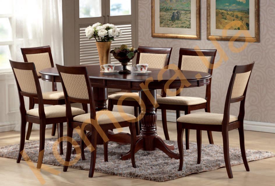 Тип мебели: Обеденные группы, Стулья, Столы обеденные. Производитель: Ts multi global (Малайзия