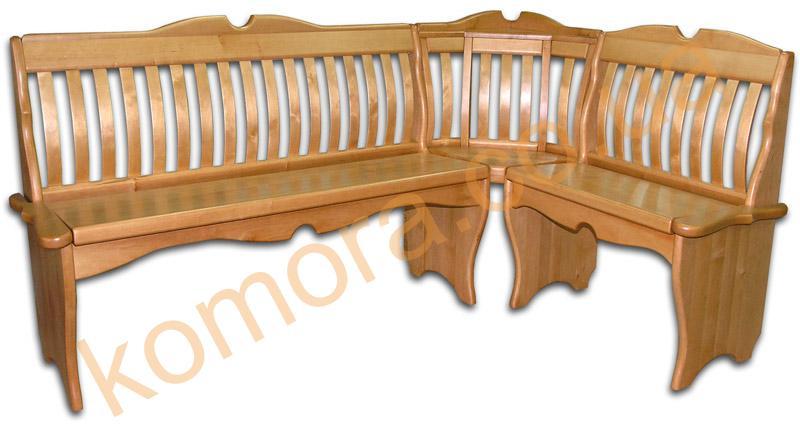 Уголок кухонный деревянный