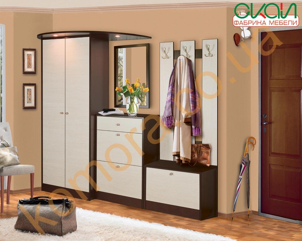 Стильная мебель для прихожей самба smbd01 состав комплекта д.