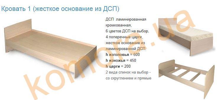 Кровать чертежи из дсп